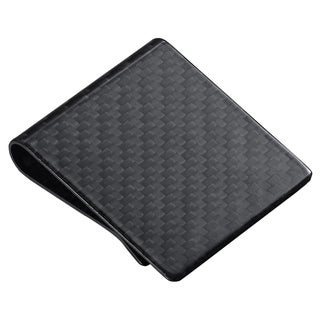 Visol Wide Black Carbon Fiber Money Clip