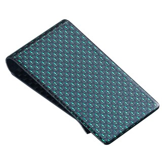 Visol Green Carbon Fiber Money Clip