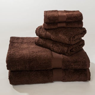 Homestead Textiles 100 Pima Cotton Loop 6-piece Towel Set