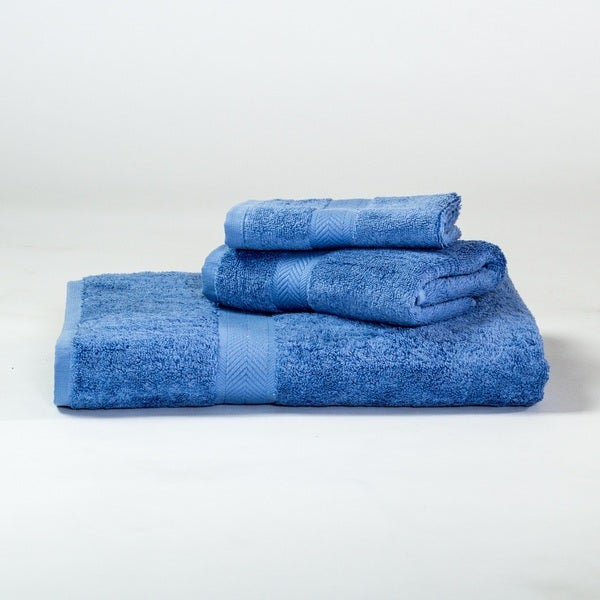 Homestead Textiles 100-percent Pima Cotton Loop 3-piece Towel Set