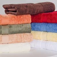 Homestead Textiles 600 GSM 100 Pima Cotton Loops Bath Towels (Set of 2)