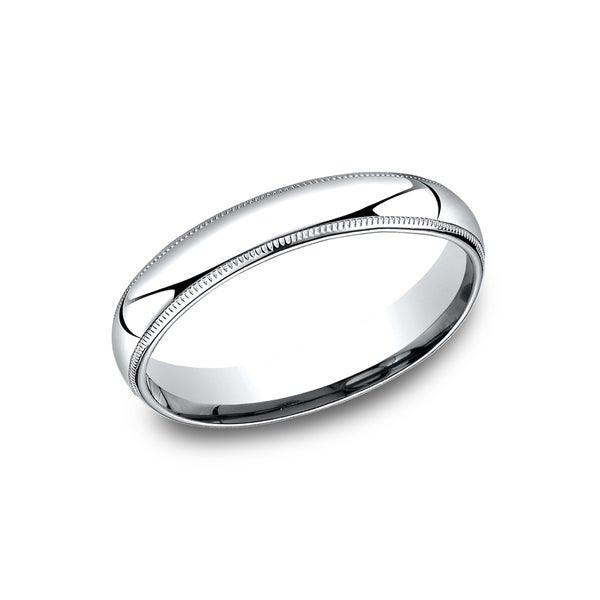 Menx27s 4 Mm Comfort Fit Inside Wedding Band
