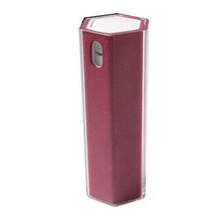 Microfiber/Spray 2-in-1 Screen Cleaner for Smartphones/Tablets/Cellphone Crimson Hexagon