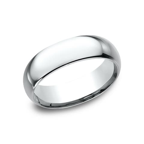 Men's 7mm Platinum Traditional Comfort Fit Wedding Band