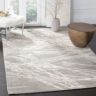 Safavieh Expression Contemporary Handmade Grey Wool Rug (9' x 12')