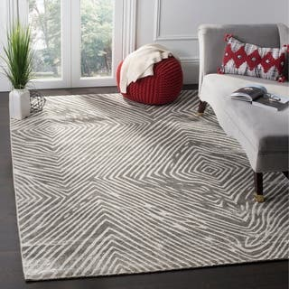 Safavieh Expression Contemporary Handmade Dark Grey Rug (9' x 12')|https://ak1.ostkcdn.com/images/products/14198933/P20794365.jpg?impolicy=medium