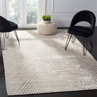 Safavieh Expression Contemporary Handmade Ivory Wool Rug (9' x 12')