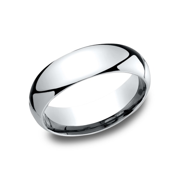 6mm Platinum Comfort Fit Traditional Wedding Band. Opens flyout.