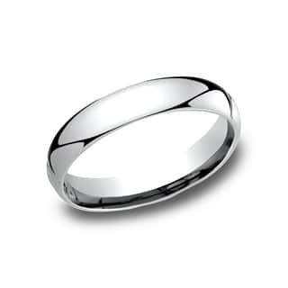 Men's 4 mm Traditional Domed Profile Comfort Fit Wedding Band|https://ak1.ostkcdn.com/images/products/14198973/P20794394.jpg?impolicy=medium