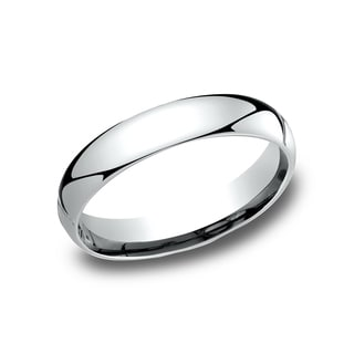 Platinum 4-millimeter Comfort Women's Wedding Band