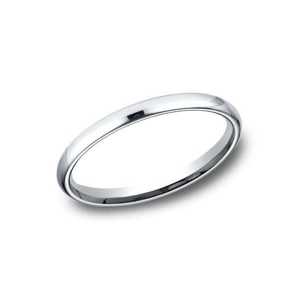 Women's Platinum Comfort-fit Traditional Wedding Band. Opens flyout.