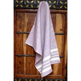 Lavender Cotton Kitchen Towel - Sustainable Threads (India)