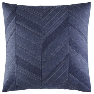 Nautica Cunningham Cotton 18-inch Quilted Decorative Pillow