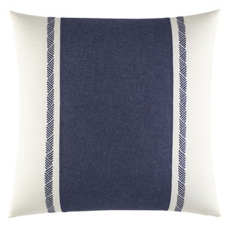 Nautica Cunningham Cotton 16-inch Embroidered Decorative Pillow