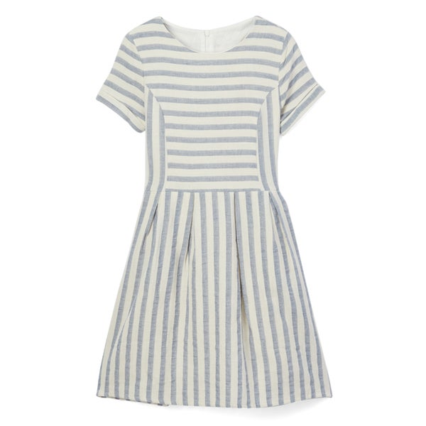 9abace6bd784 Shop Spicy Mix Girls  Livvy Cotton Striped Linen Dress - Free Shipping On  Orders Over  45 - Overstock - 14199603