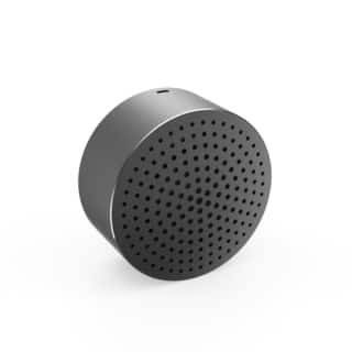 Cobble Pro Metallic Grey Mini Bluetooth 4.0 Aluminum Speaker https://ak1.ostkcdn.com/images/products/14199607/P20794947.jpg?impolicy=medium