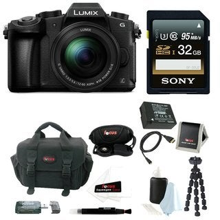 Panasonic LUMIX DMC-G85MK 4K Mirrorless  Lens Camera Kit,12-60mm Lens + 32GB Kit