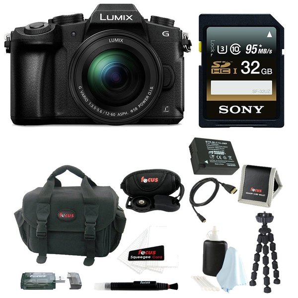 Panasonic LUMIX DMC-G85MK 4K Mirrorless  Lens Camera Kit,12-60mm Lens + 32GB Kit 23571900