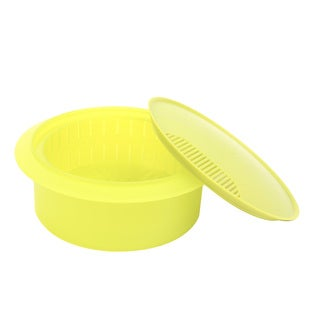 BPA-free Green Microwaveable Vegetable Steamer