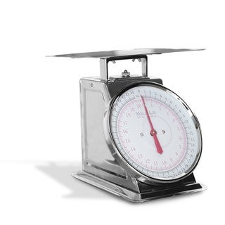 Escalibur Stainless Steel 44-pound Dial Scale