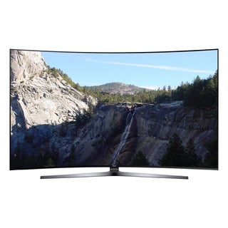 Refurbished Samsung 78-inch Curved 4K SUHD Smart LED TV with Wi-Fi - Black