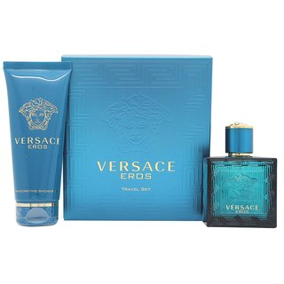 Versace Eros Men's 2-piece Travel Set