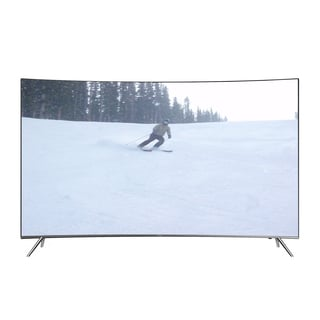 Refurbished Samsung 55-inch 4K Curved SUHD Smart LED TV with Wi-Fi