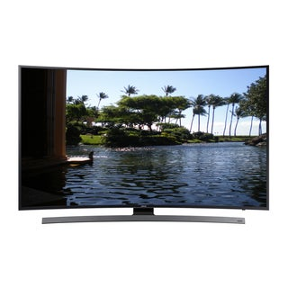 Samsung 55-inch Refurbished 4K Curved Wi-Fi Smart LED TV