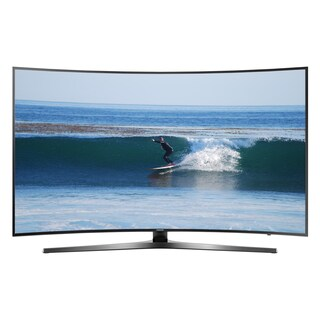 Refurbished Samsung 55-inch Wi-Fi-enabled 4K Curved Smart LED TV