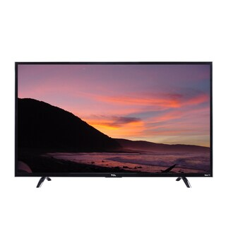 Tcl 50-inch Refurbished Wi-Fi Roku Smart 4K LED TV