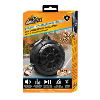 Armor All Bluetooth Black Tire Speaker
