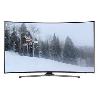 Samsung 55-inch 4K Curved Wi-Fi LED Black Refurbished Smart TV