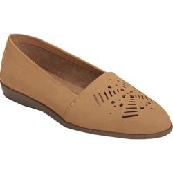 Women's A2 by Aerosoles Trend Right Loafer Tan Faux Suede
