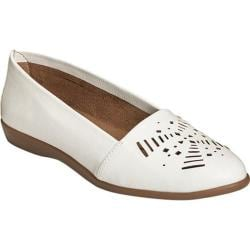 Women's A2 by Aerosoles Trend Right Loafer White Faux Leather