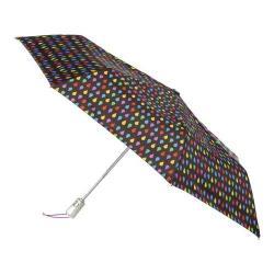 totes Signature Auto Open/Close NeverWet Umbrella Black Rain