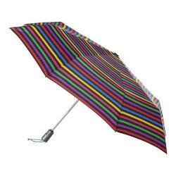 totes Titan Large Auto Open/Close NeverWet Umbrella Hue Stripe