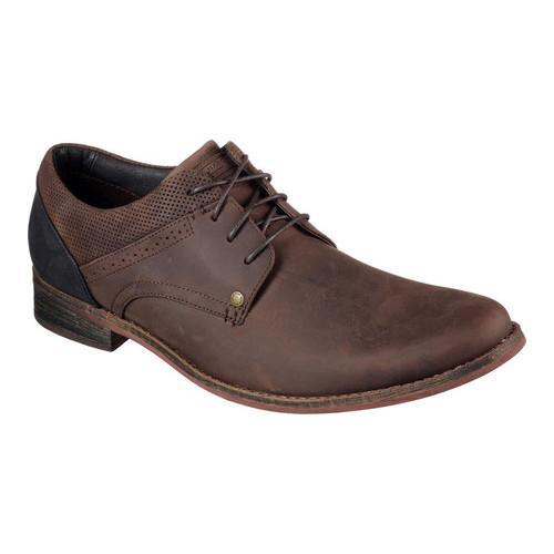 7b77c8c4097d Shop Men s Mark Nason Skechers Tatum Oxford Dark Brown - Free Shipping  Today - Overstock.com - 13782405