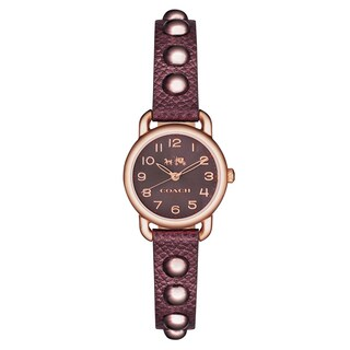 Coach Women's Delancey 14502409 Leather Watch