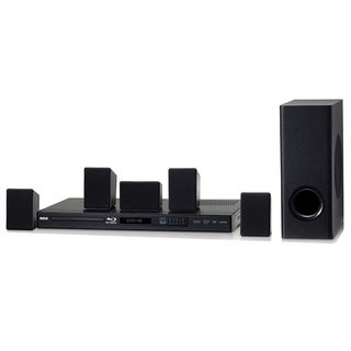 RCA 100-watt Black Refurbished Home Theater System With Blu-ray Player