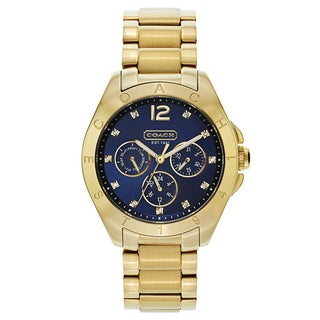 Coach Tristen Women's 14501887 Goldplated Watch