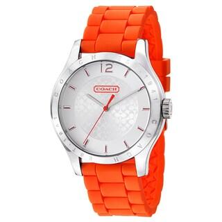 Coach Maddy Women's 14501802 Rubber Watch