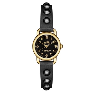 Coach Women's Delancey 14502352 Leather Watch