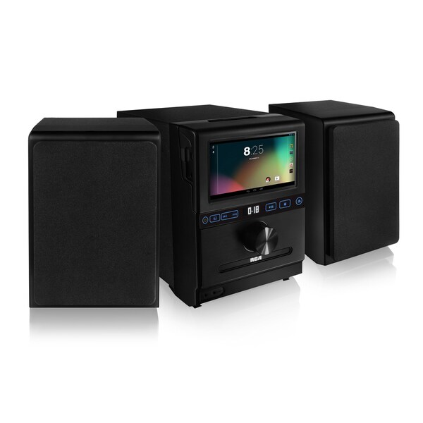"""RCA Refurbished Google-powered 7"""" Multitouch LCD Internet Music System"""