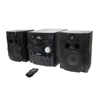 Refurbished RCA 300W 5 CD Bluetooth Music Shelf System