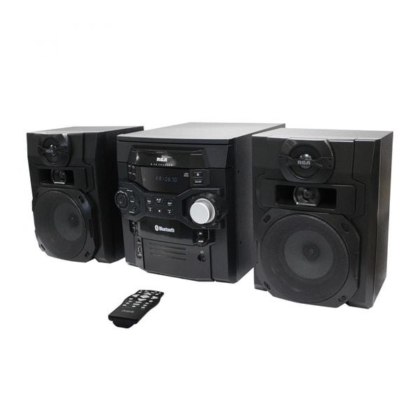 Refurbished RCA 300W 5 CD Bluetooth Music Shelf System
