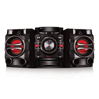 LG 230 Hi-Fi Bluetooth Black and Red Refurbished Entertainment System