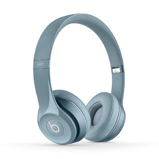 Refurbished Dre Beats Solo 2 Glossy Grey Wired On-ear Headphones