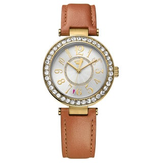 Juicy Couture Women's Cali 1901397 Leather Watch