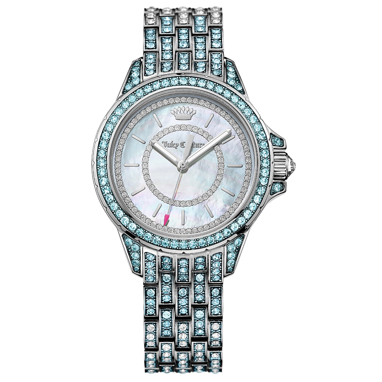 Juicy Couture Charlotte Stainless Steel Women's Watch (Wa...