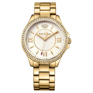 Juicy Couture Women's Gwen 1901356 Goldplated Watch